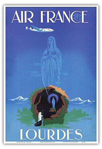 lourdes-virgen-maria-nuestra-senora-de-lourdes-air-france-vintage-airline-travel-poster-por-edmond-m