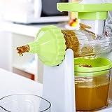Edelehu Gesunde Entsafter Obst Und Gemüse Hand-Manual Weizengras Entsafter Küche Oder Esszimmer...