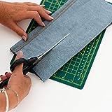 DRESSMAKING SCISSORS 9 INCH by Korbond - Soft Grip Professional Scissors, Household Scissors, Fabric Scissors, Paper Scissors. AMBIDEXTROUS - For Right & Left Handed