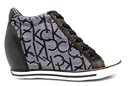 Sneakers Donna VERO JACQUARD RE9643 Silver Polacchine Scarpe Donna Casual