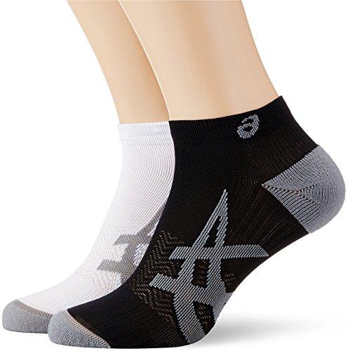 Asics Herren Lightweight 2er Pack Socken, Mehrfarbig, 39-42 (Socken Running Asics)