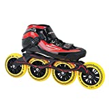 GT 500 110 Inline Skates Speed unisexe / rouge taille 36 noir