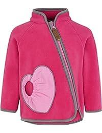 Racoon Baby Girls' Nanna Teddyfleecejacke Jacket