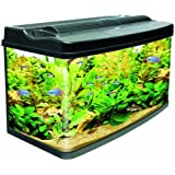 Interpet Original Fish Pod Glass Aquarium Fish Tank - 120 L