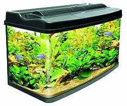 Interpet Fish Pod Glass Aquarium Fish Tank, 120 L