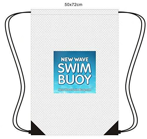 New Wave Mesh Kordelzug Rucksack für Triathlon Gear, Schwimmen Ausrüstung und Beach Toys (Tyr-triathlon-anzug)