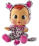 Poor little Cry Baby Lea! Give her the dummy and a cuddle to stop her from crying. She cries real water, makes baby noises and come with a special packet of tissues for mopping up those tears! For more play fun, arms and legs are movable. She also co...