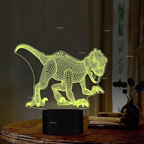 hter 7 wechselnde Farben Geschenk für Science Fiction Film Liebhaber Dinosaurier Liebhaber Kinder Geschenk ()