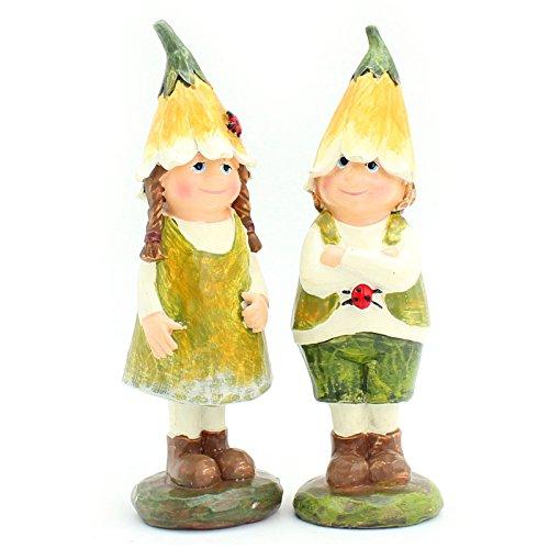 it Geschenke Dekoration Garten Kobold Paare Ornamente Geburtstag Geschenk , im Sommer, 1. (Vorschule Sommer Handwerk)