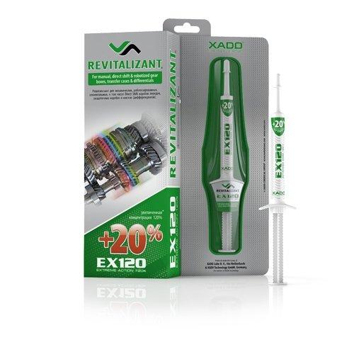 XADO Additivo per olio per ingranaggi EX120 con Revitalizant® (trasmissione manuale)