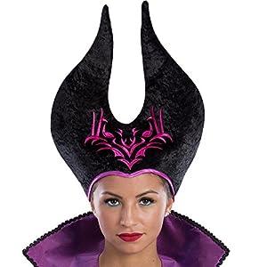 Carnival Toys 6565Sombrero de Bruja Maleficent, One Size