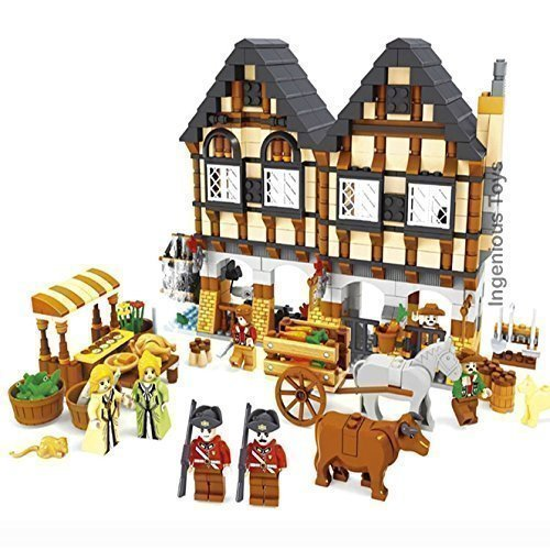 Medieval-Farm-Market-Village-castle-house-friends-GREAT-VALUE-New-Sealed-28001