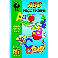 Magic Picture ABC - Buki Activity Book - Made in Israel by Poof Slinky