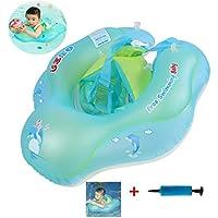 YOSPOSS - Anillo de Natación para bebé, con flotadores de Natación inflables para Bebés de