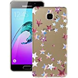 Coque Galaxy A3 2016, HB-Int Housee de Protection Samsung A3 2016 gel Silicone Souple Flexible avec Motif Etui Ultra Mince Soft TPU Antichoc Shockproof Cas Couverture pour Samsung Galaxy A3 2016