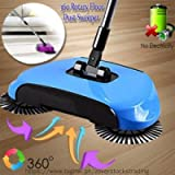 #4: Swabs Whirl Wind Sweeper mop New Designe and Easy Use Auto Spin Hand Push Sweeping Broom Floor Dust Cleaning Sweeper Cleaner Mop Tool-Color May Very