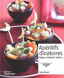 Apéritifs dinatoires : Tapas, antipasti, mezze...