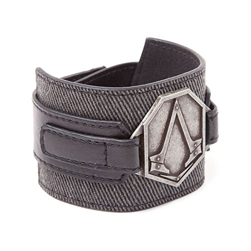 Assassin's Creed Syndicate Armband Metall Patch, - Kunststoff Armee Männer Kostüm
