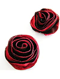 Czj-Innovation Wiederverwendbar Nippel-Aufkleber Pasties Rose Design für Frauen