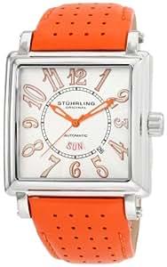 Stuhrling Original - 149C.3315F23 - Montre Homme - Automatique - Analogique - Bracelet cuir orange