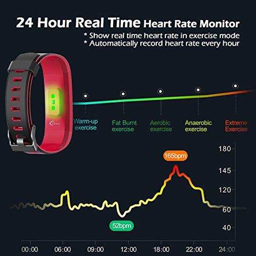 Zoom IMG-1 chereeki fitness tracker ip68 orologio