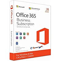 Microsoft office 365 Business Subscription for Windows and MAC 5pcs or mac/user(CD)