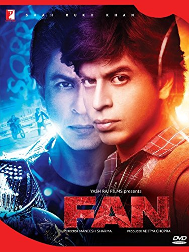 FAN [2 DVD Pack - Special Limited Edition] ~ Hindi mit englischem Untertitel ~ Original ~ Bollywood ~ Shah Rukh Khan ~ Yash Raj Films ~ 2016 (24-stunden-pack)