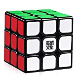 HJXDtech - Moyu Aolong V2 3X3X3 Speed Cube 2018 Puzzle 3D de Magic Cube (Negro)