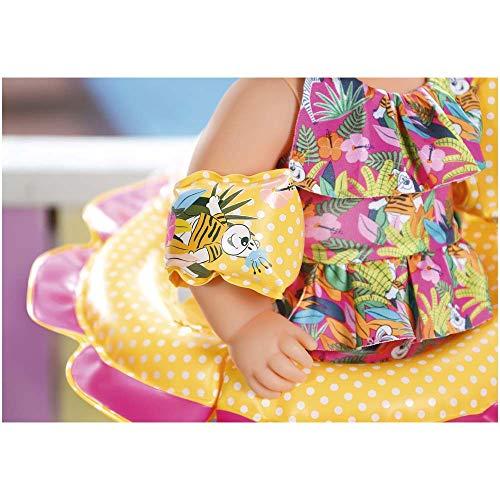 Zapf Creation Baby born 825891 Nuoto Divertente Set Multicolore