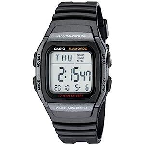 Casio W96H-1BV – Reloj Digital Deportivo clásico para Hombre
