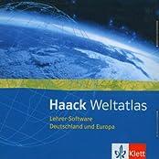 Haack Weltatlas, Lehrer-CD-ROM Software für Deutschland und Europa
