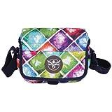 Chiemsee Umhängetasche Schultertasche Shoulderbag, Messenger Bag, 21 x 15 x 6 cm 2 Liter Mehrfarbig...