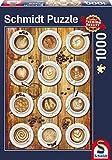 Schmidt Spiele 58277 - Kaffee-Kunstwerke, 1000 Teile Puzzle