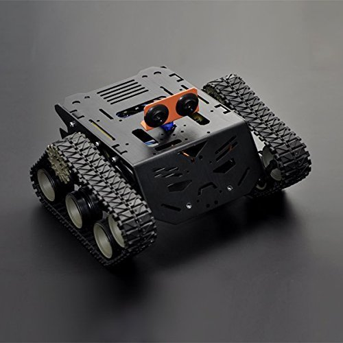 ANGELELEC DIY OPEN SOURCE APPLIANCE ROBOT  DEVASTATOR TANK MOBILE PLATFORM COMPATIBLE WITH ARDUINO  RASPBERRY PI ADD VARIOUS SENSORS  SERVOS  TURNTABLES AND CONTROLLERS EDUCATIONAL RESEARCH PROJECTS