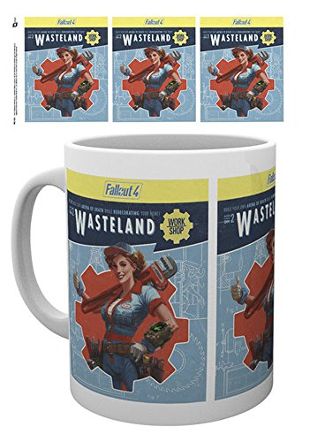 Keramik Tasse Minute Men Fallout 4 Größe Ø8,5 H9,5cm