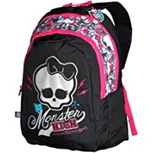 Monster High Sac à Dos Enfants, Noir/rose MH194