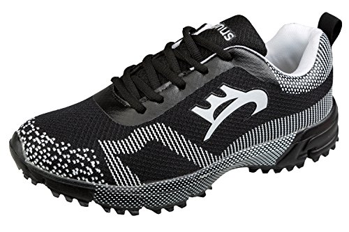 GIBRA® Sneaker, sehr leicht und bequem, schwarz/weiß, Gr. 40-45 Schwarz/Weiß