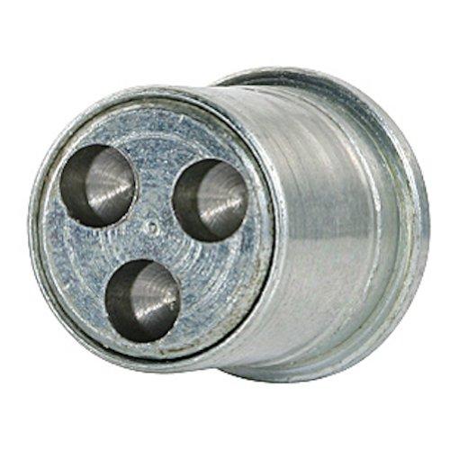 FARAD 1-ca SB 1CH.SP Stil Bull Felgenschloss, Diebstahlsicherung für Autos mit Mutter, 4Stück mit 1Schlüssel