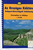 Ungarischer Landesrundweg / Kéktúra / Blauer Weg: Wanderführer Budapest - Hollóházo (ca. 400 km). 1:40 000 top. Wanderkarten, ausführliche Beschreibung in ungar. Sprache. einziger Führer zum Weg (zugleich Eisenach - Budapest EB-Weg)