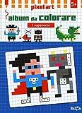 I supereroi. Album da colorare. Pixel art. Ediz. illustrata