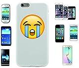 Teléfono Móvil 'violenta Llorando Cara' para Apple Samsung- LG- Huawei- Sony- HTC/Teléfono celular tapa para iPhone 4,5,6,7- Galaxy s2,3,4,5,6,7- -- p9- con Smiley- Emoji Sony XPERIA Z 5 Compact