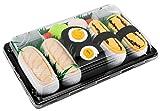 Sushi Socks Box - 3 paires de Sushi CHAUSSETTES en Coton: Tamago Butterfish Nigiri Oshinko Maki - CADEAU CRÉATIF, Taille UE: 41-46  Bonne qualité - Certifié OEKO-TEX, fabriqué dans l'UE