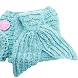DELEY-Beb-de-la-Princesa-de-las-Nias-Crochet-Cosplay-Cola-de-Sirena-de-Vestuario-Infantil-Ropa-Traje-de-la-Foto-Puntales-de-0-6-Meses
