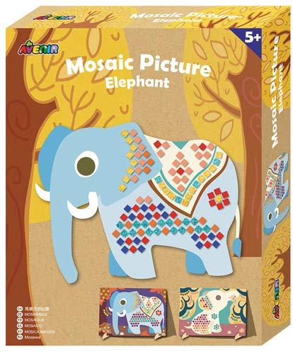 Avenir- Mosaico Elefante Ch1458, (AVECH1458)