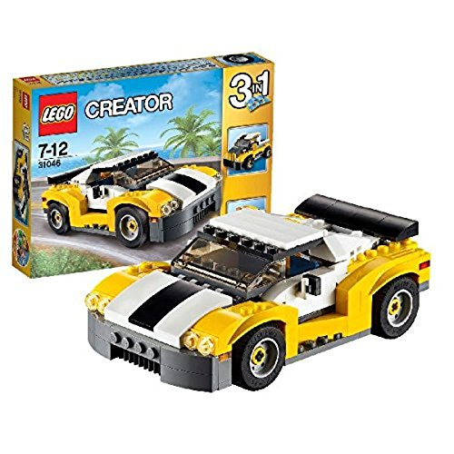 LEGO - Deportivo de Color Amarillo (31046)