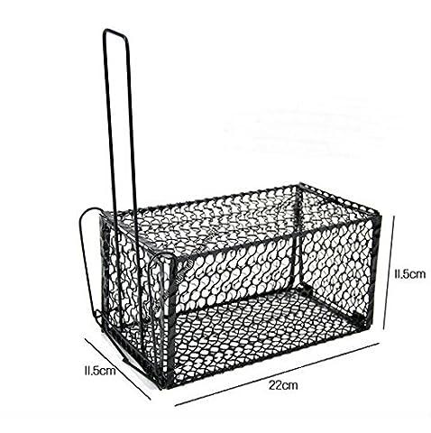 Highdas Rat Cage Souris Rongeur de contr?le des animaux Catch Pi¨¨ge Bait Hamster Souris