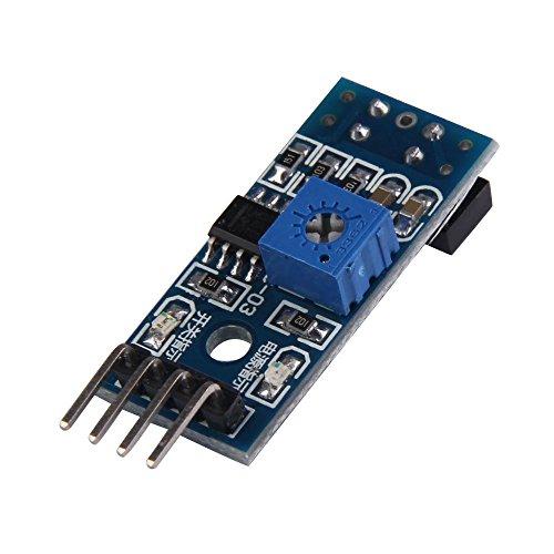 FengYun® Tracking Sensor Modul TCRT5000 Infrarot Reflexions Sensor Board IR Erkennungs Barrier Vermeidungs Modul mit optischem Schalter -