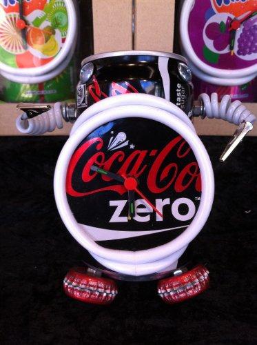 coke-zero-recycle-peut-horloge-robot-recycle-coca-cola-zero-peut-robot-reveil-avec-image-de