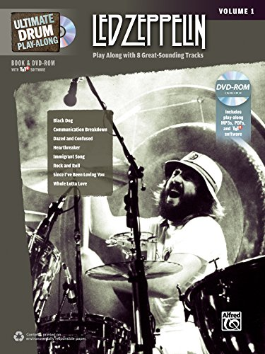 Ultimate Drum Play-Along: Led Zeppelin, Volume 1  - Play Along with 8 Great-Sounding Tracks (incl. 2 CDs) (Ultimate Play-along)
