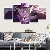 5 Stück Wand Kunst Zum Leben Zimmer Schlafzimmer Hauptdekorationen Naruto Bilder Farben Auf Segeltuch Poster Drucken,A,30×50×230×70×230×80×1